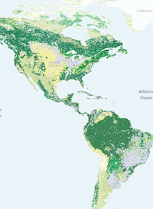 Climate Change Story Maps: CREAT Climate Scenarios Projection Map