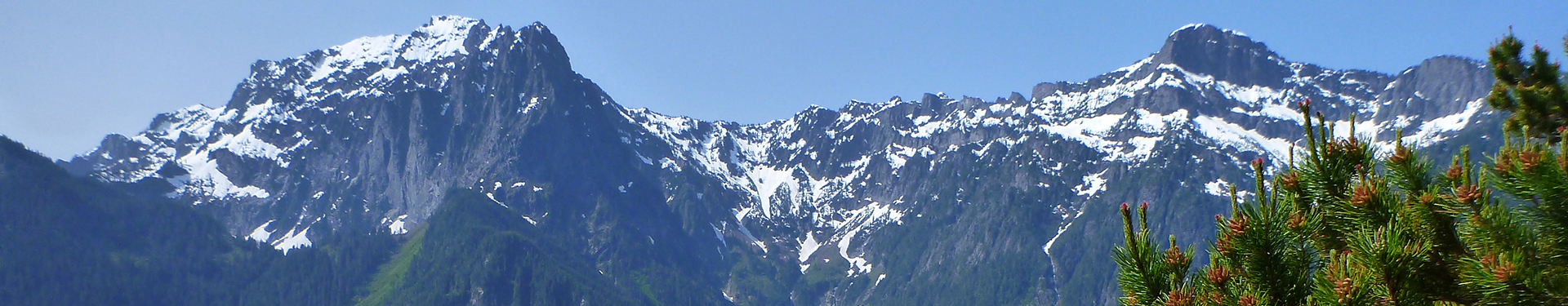 Tulalip Natural Resources Department image of alpine scene in the Cascade Mountains